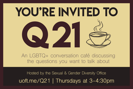 You're invited to Q21